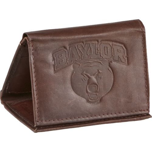 Rico Men's Baylor University Trifold Wallet