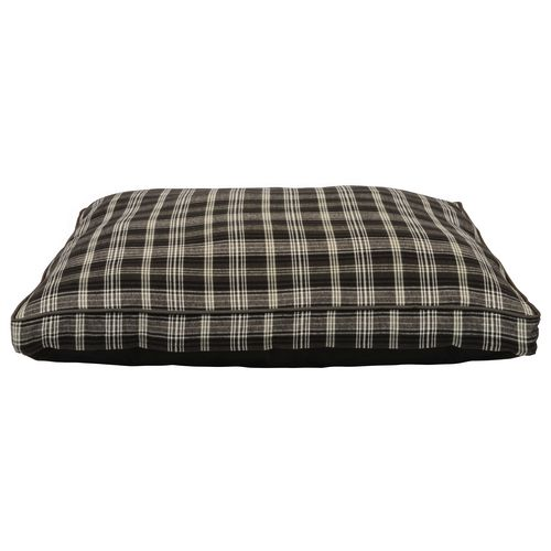 "Dallas Manufacturing Company 30"" x 40"" Plaid Gusseted Pet Bed"