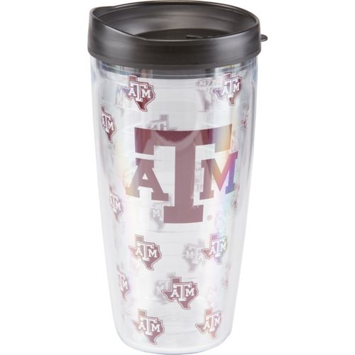 Signature Tumblers Texas A&M University Repeat Pattern 22 oz. Traveler Tumbler with Lid