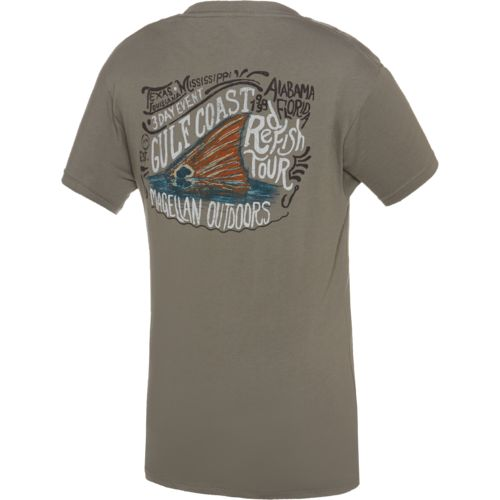 Magellan Outdoors™ Men's Gulf Coast Redfish Tour Pocket T-shirt