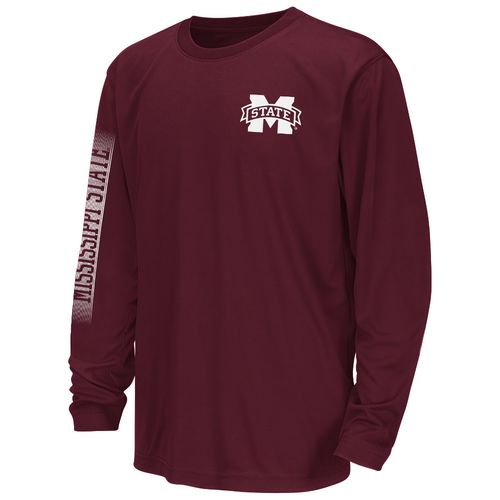 Colosseum Athletics™ Juniors' Mississippi State University Long Sleeve T-shirt