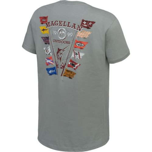 Magellan Outdoors™ Men's Game Day Flags Pocket T-shirt