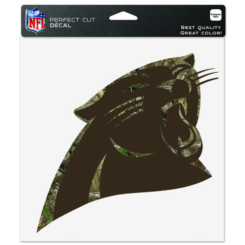 "WinCraft Carolina Panthers Realtree Perfect Cut 8"" x 8"" Decal"