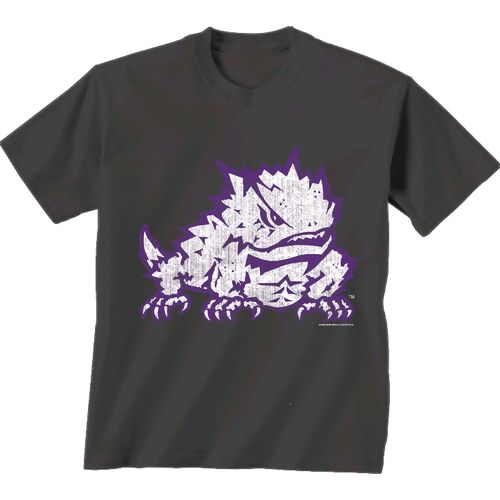 New World Graphics Men's Texas Christian University Alt Graphic T-shirt