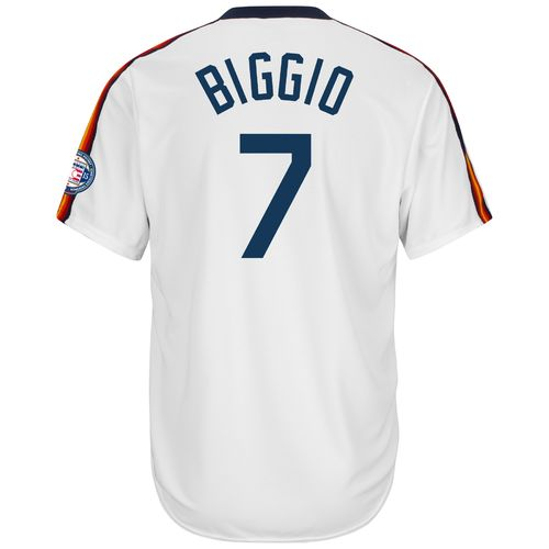Majestic Men's Houston Astros Craig Biggio #7 Cool Base Cooperstown Jersey - view number 1