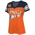 G-III for Her Women's Auburn University Pass Rush Fashion Top