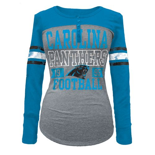 5th & Ocean Clothing Juniors' Carolina Panthers Long