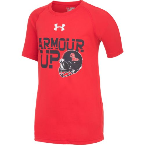 Under Armour™ Boys' University of Mississippi Tech T-shirt