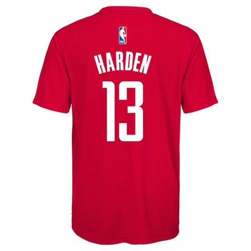 adidas™ Boys' Houston Rockets James Harden Player T-shirt