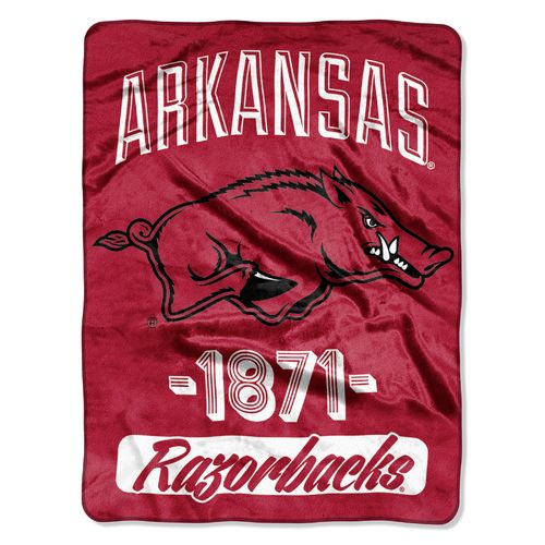 The Northwest Company University of Arkansas 40 Yard Dash Micro Raschel Throw