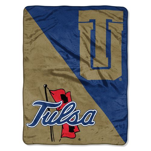 The Northwest Company University of Tulsa Halftone Micro Raschel Throw