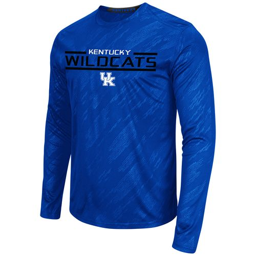 Colosseum Athletics™ Men's University of Kentucky Sleet Embossed Long Sleeve T-shirt