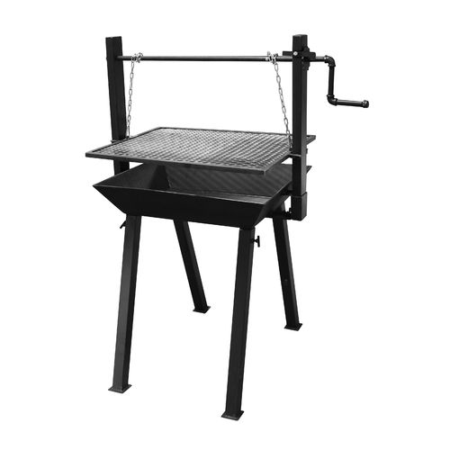 Old Country BBQ Pits™ Heavy-Duty Crank-Up Grill