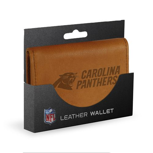 Rico Men's Carolina Panthers Embossed Wallet