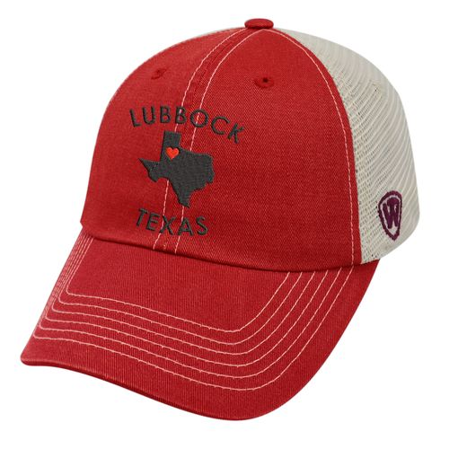 Top of the World Women's Texas Tech University Roots Cap