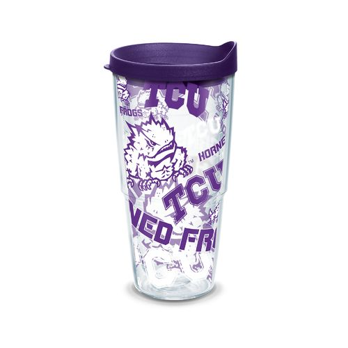 Tervis Texas Christian University Allover 24 oz. Tumbler
