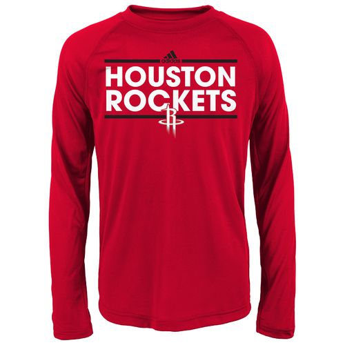 adidas™ Boys' Houston Rockets Dassler Long Sleeve T-shirt