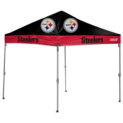 Coleman® Pittsburgh Steelers 10u0027 x 10u0027 Straight-Leg Canopy - view number  sc 1 st  Academy Sports + Outdoors & Coleman® Pittsburgh Steelers 10u0027 x 10u0027 Straight-Leg Canopy | Academy