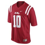 Nike Men's University of Mississippi Eli Manning 10 Former Player Football Jersey - view number 2