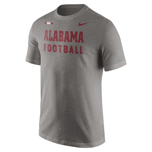 Nike men 39 s university of alabama facility t shirt academy for University of alabama football t shirts