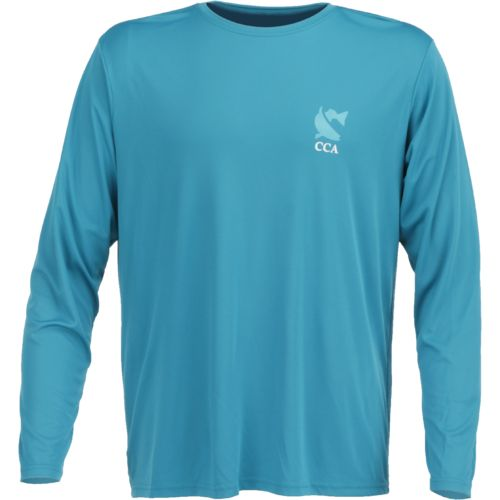 CCA Men's Redfish Moisture Management Long Sleeve T-shirt