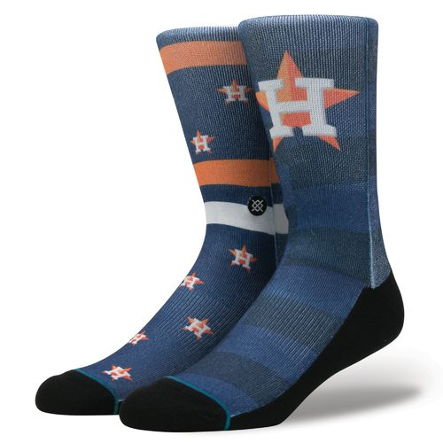 Stance Men's Houston Astros Splatter Socks