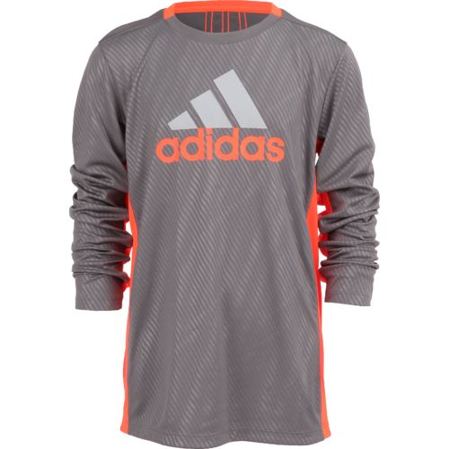 adidas Boys' Helix Vibe Long Sleeve Training Top