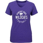 Gen2 Girls' Kansas State University Full Circle V-neck T-shirt - view number 1