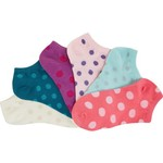 BCG Women's Shiny Dot Fashion Socks 6 Pack - view number 3