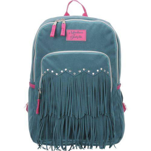 Madison & Dakota Girls' Ultrasuede Fringe Backpack - view number 1