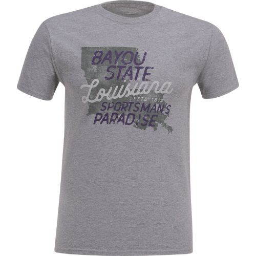Academy Sports + Outdoors Men's Louisiana Bayou Sportsman T-shirt - view number 1