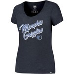 '47 Memphis Grizzlies Women's Wordmark Scoop Neck T-shirt - view number 1
