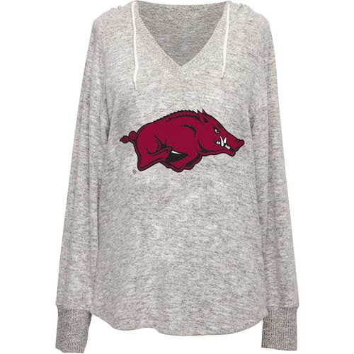 Chicka-d Women's University of Arkansas V-neck Hoodie