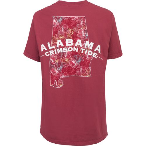 New World Graphics Women's University of Alabama Comfort Color Puff Arch T-shirt