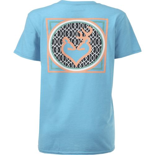 Display product reviews for Browning Women's Buckheart Monogram Classic T-shirt