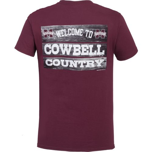 New World Graphics Men's Mississippi State University Welcome Sign T-shirt