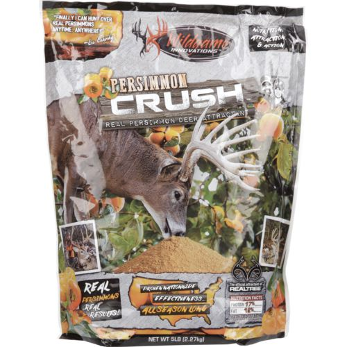 Display product reviews for Wildgame Innovations Persimmon Crush 5 lbs Deer Attractant