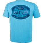 Salt Life Men's Life In The Cast Lane SLX Performance Short Sleeve T-shirt - view number 1
