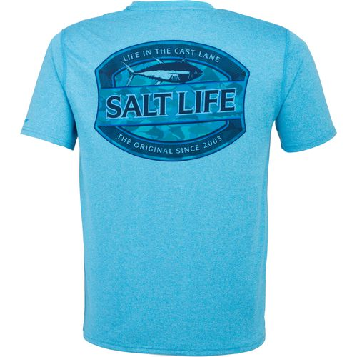 Salt Life Men's Life In The Cast Lane SLX Performance Short Sleeve T-shirt