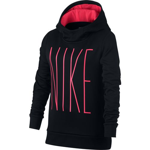 Nike Girls' Therma GFX Pullover Hoodie