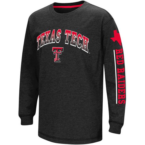 Colosseum Athletics Boys' Texas Tech University Grandstand Long Sleeve T-shirt