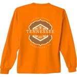 New World Graphics Women's University of Tennessee Faux Pocket Long Sleeve T-shirt - view number 1