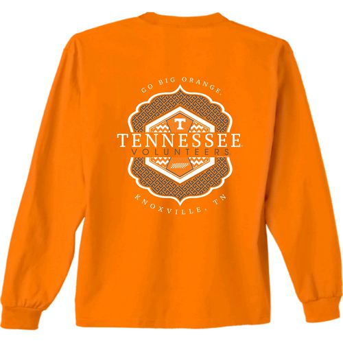 New World Graphics Women's University of Tennessee Faux Pocket Long Sleeve T-shirt