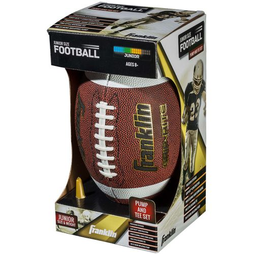 Franklin Junior Grip-Rite Football and Pump Set - view number 4