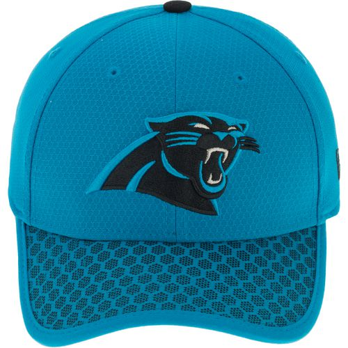 New Era Men's Carolina Panthers Onfield Sideline Team 2-Tone 39THIRTY Cap