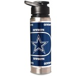 Great American Products Dallas Cowboys 20 oz Double-Wall Stainless-Steel Water Bottle - view number 1