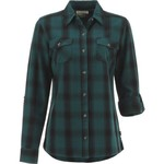 Magellan Outdoors Women's Fish Gear Cordova Pass Flannel Fishing Shirt - view number 1