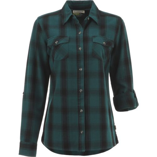 Magellan Outdoors Women's Fish Gear Cordova Pass Flannel Fishing Shirt