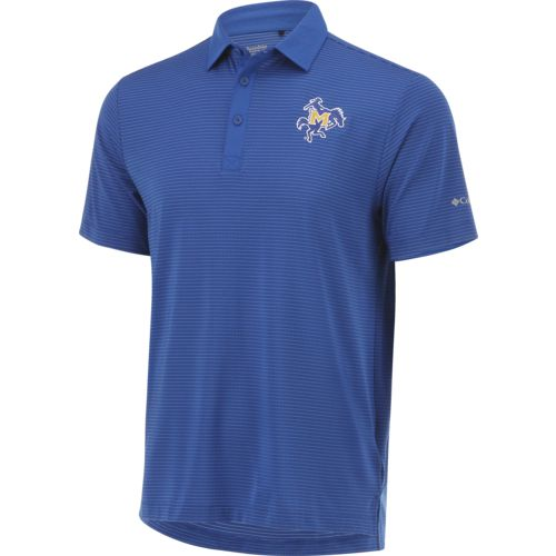 Columbia Sportswear Men's McNeese State University Omni-Wick Sunday Polo Shirt