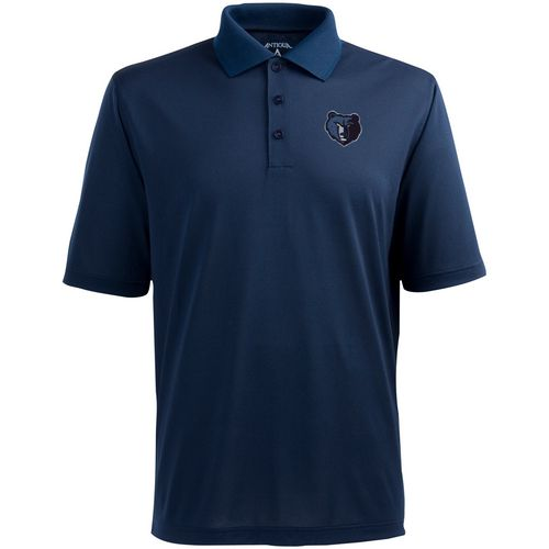 Antigua Men's Memphis Grizzlies Pique Xtra-Lite Polo Shirt